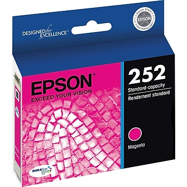 Epson DURABrite Ultra 252 Magenta Ink Cartridge (T252320-S)