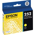Epson DURABrite Ultra 252 Yellow Ink Cartridge (T252420-S)