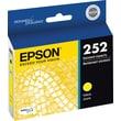 Epson DURABrite Ultra 252 Yellow Ink Cartridge (T252420-S)