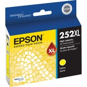 Epson DURABrite Ultra 252XL Yellow Ink Cartridge (T252XL420-S), High Yield