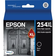 Epson DURABrite Ultra 254XL Black Ink Cartridge (T254XL120-S), Extra High Yield
