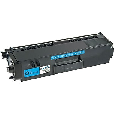 Sustainable Earth by Staples Remanufactured Cyan Toner Cartridge, Brother TN-310C (SEBTN310CRDS)