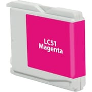 Staples Remanufactured Magenta Ink Cartridge, Brother LC51M (SIB-RLC51MDS)