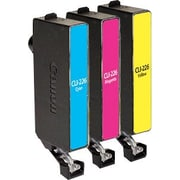 Staples Remanufactured C/M/Y Color Ink Cartridges, Canon CLI-226 (SIC-RCL226CMYDS), Combo 3/Pack