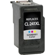Staples Remanufactured Tricolor Ink Cartridge, Canon CL-241XL (SIC-RCL241XC), High Yield