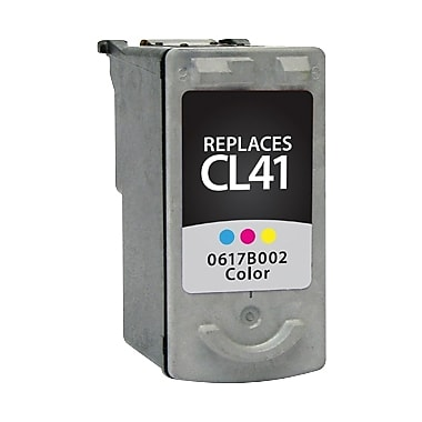 Staples Remanufactured Tricolor Ink Cartridge, Canon CL-41 (SIC-RCL41CDS)