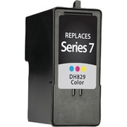 Staples Remanufactured Tricolor Ink Cartridge, Dell Series 7 (SID-RCH884DS), High Yield