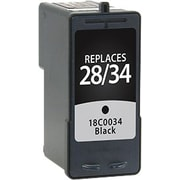 Staples Remanufactured Black Ink Cartridge, Lexmark 34 (SIL-R34BDS), High Yield