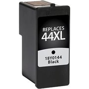 Staples Remanufactured Black Ink Cartridge, Lexmark 44XL (SIL-R44XBDS), High Yield