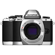 Olympus OM-D E-M10 16 MP Digital Camera, Silver, (11331769)