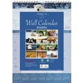 Brownline® 2015 Monthly Wall Calendar, Wildlife, 12in. x 17in.