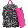 Jansport Superbreak Backpack, Gray Wild Heart