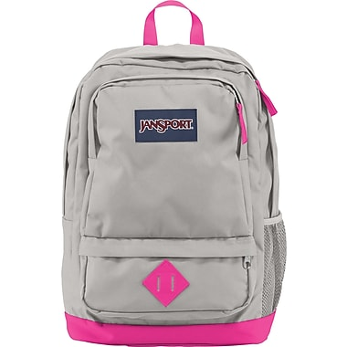 Jansport All Purpose Gray/Florensce Pink