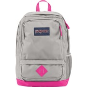 Jansport All Purpose Gray/Fluorescent Pink