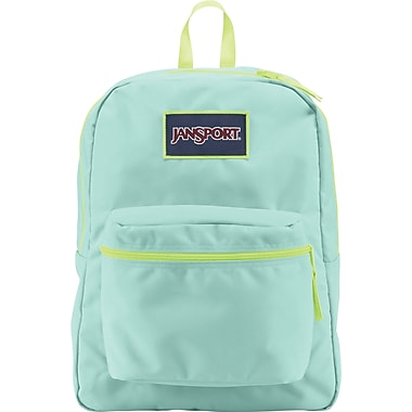Jansport Overexposed Backpack, Aqua Dash/Lorac Yellow