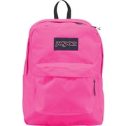 Jansport Superbreak Backpack, Floral Pink