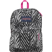 Jansport Superbreak Gray Animal Print Backpack (T501ZE6)