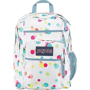 Jansport Big Student. Pink Pamsy Confetti Dots
