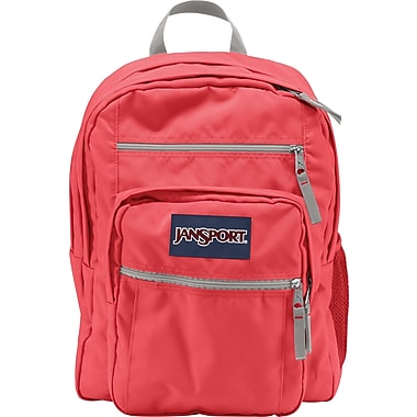Jansport Big Student Backpack, Coral Dusk