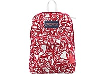 Jansport High Stakes Backpack, Coral Dusk/Jungle Adventure Flocked
