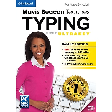 Mavis Beacon Typing Family Edition [Boxed]