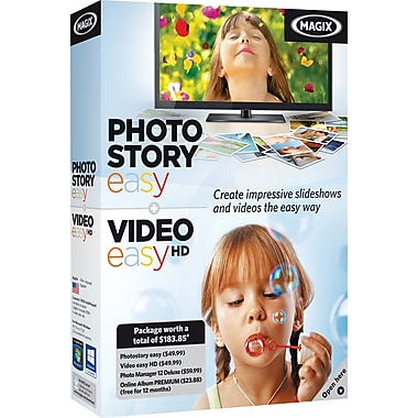 Photostory Easy & Video easy [Boxed]