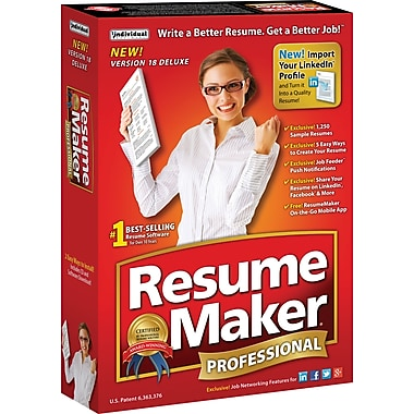 ResumeMaker Professional Deluxe 18 [Boxed]