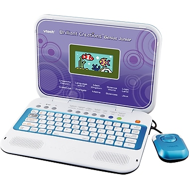 VTech® Brilliant Creations Genius Junior Laptop, Bilingual