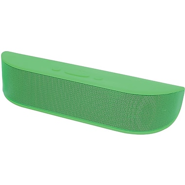 Adruo Bee Bop Portable Bluetooth Speaker with Microphone, Green