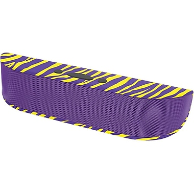 Aduro Bee Bop Portable Bluetooth Speaker with Microphone, Purple Zebra