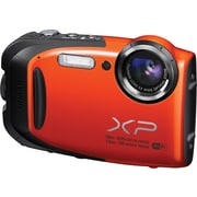 Fuji FinePix XP70 Waterproof Digital Camera with Wifi, Orange