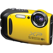 Fuji FinePix XP70 Waterproof Digital Camera with Wifi, Yellow