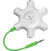 Belkin RockStar Multi Headphone Splitter, White