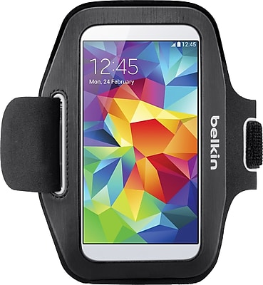 Belkin GS5 Sport Fit Armband, Black