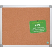 MasterVision®  Earth Cork Board 2x3, Alum...