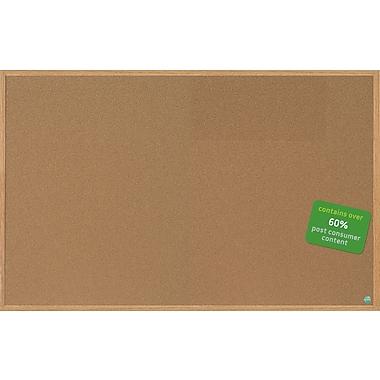 MasterVision® Earth Cork Board 4'x6', MDF Oak Frame