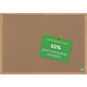 MasterVision®  Earth Cork Board 2x3, MDF Oak Frame