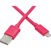 Aduro MFI Lightning to USB Charge & Sync 10 Foot Cable - Pink
