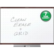Quartet® Prestige® 2 Total Erase® Whiteboard, 4' x 3', Mahogany Finish Frame (TE544MP2)