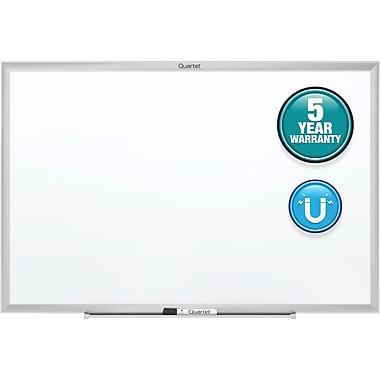 Quartet 6' x 4' Silver Aluminum Magnetic Whiteboard
