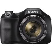 "Sony® Cyber-shot DSCH300B Digital Camera, 20.1MP, 35x Optical Zoom, 720 HD Video, 3"" LCD Screen, Black"