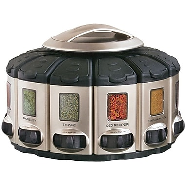 KitchenArt Professional Series Select-A-Spice® Auto-Measure® Spice Carousel