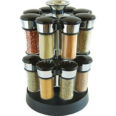 KitchenArt Elite Glass Spice Carousel