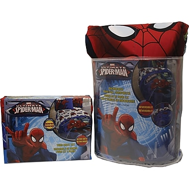 Marvel Spider-Man Astonish Bed in a Bag, Twin Size, Blue