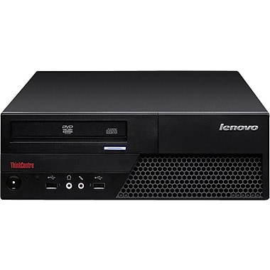 Lenovo (M58-7483) Refurbished Desktop, 3.0GHz Intel Core 2 Duo, 4GB RAM, 250GB SATA HDD, English