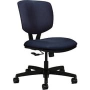 basyx by HON Volt Fabric Computer and Desk Office Chair, Armless, Blue (HON5721HBK85T)