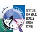 Custom Postcards Optometry Time for your Yearly Eye Exam
