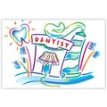 Custom Postcards Dental Paste & Brush