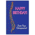 Custom Postcards Chiropractic Confetti Spine