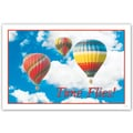 Custom Postcards Medical Hot Air Balloon
